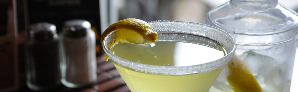 Lemon Drop - Rose and Crown Pub
