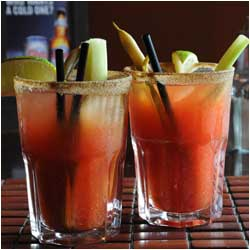 Caesars - Rose and Crown Pub Drink Menu